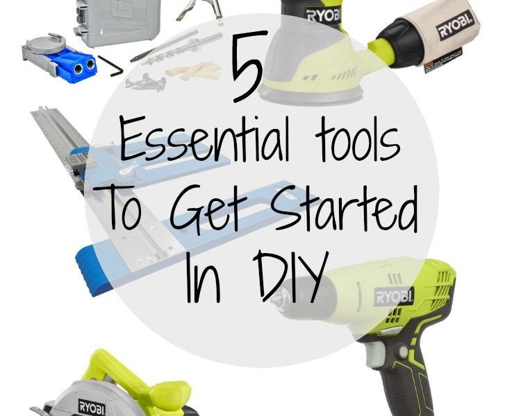 These 5 essential tools will get you started on your DIY journey without breaking the bank!
