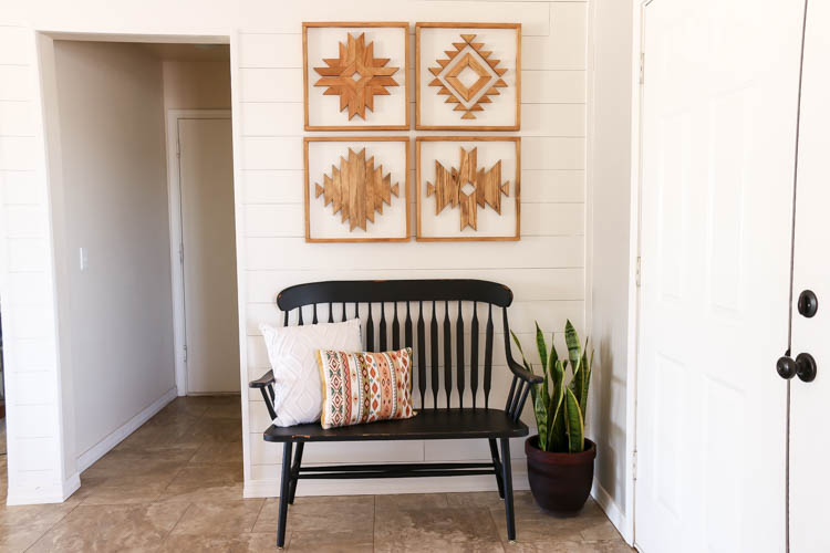 Diy Wooden Aztec Wall Art Addicted 2 Diy