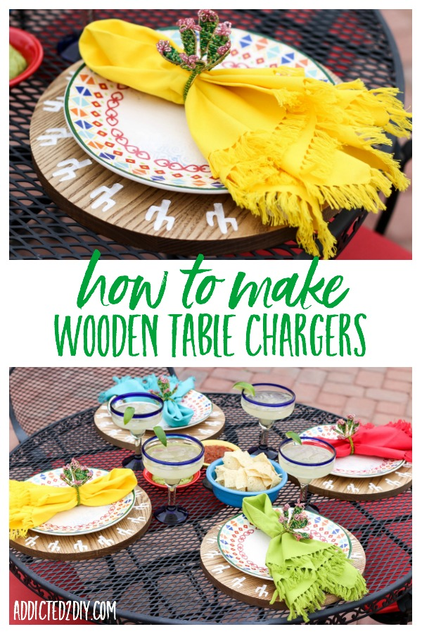 diy table chargers