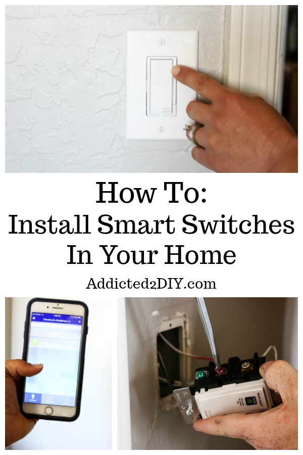 install smart switches
