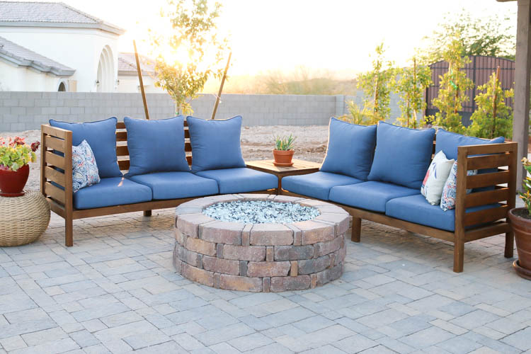 Once The Cushions Were Cleaned And Dry, I Set Them Back On The Patio Set.  They Look And Feel So Much Cleaner Now That They Donu0027t Have A Coat Of Dust,  ...