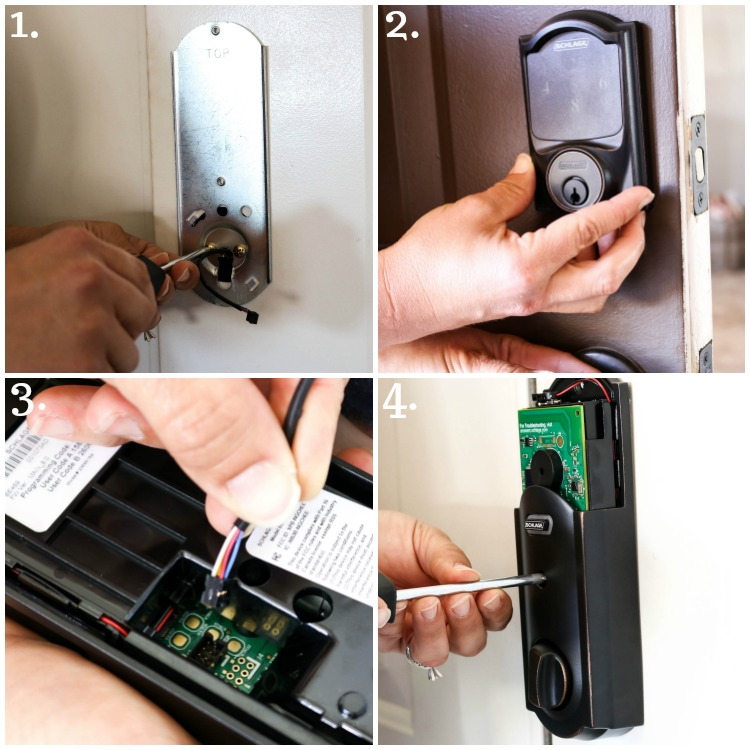 steps to install deadbolt