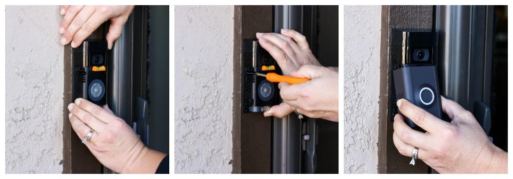 installing the Ring video doorbell