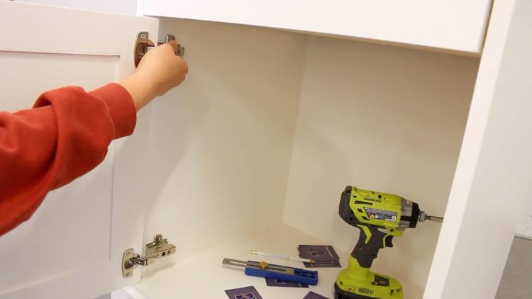 Installing Cabinet Door-2