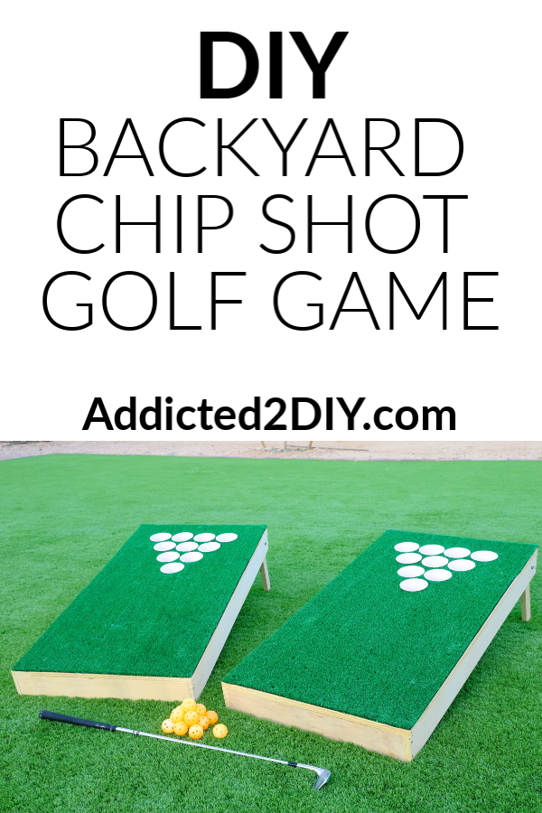 DIY Backyard Chip Shot Golf Game
