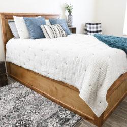 Queen Size Storage Bed