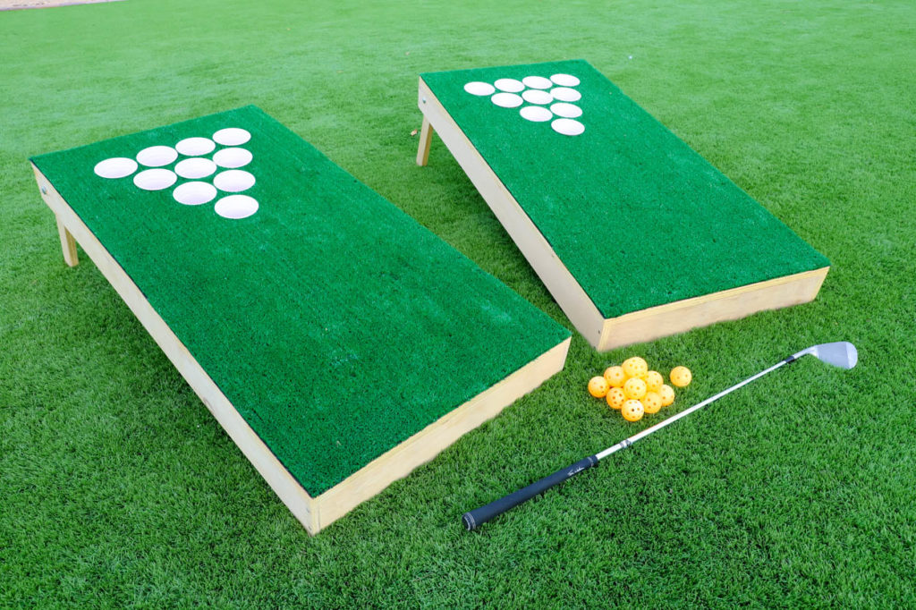 DIY chip shot golf game