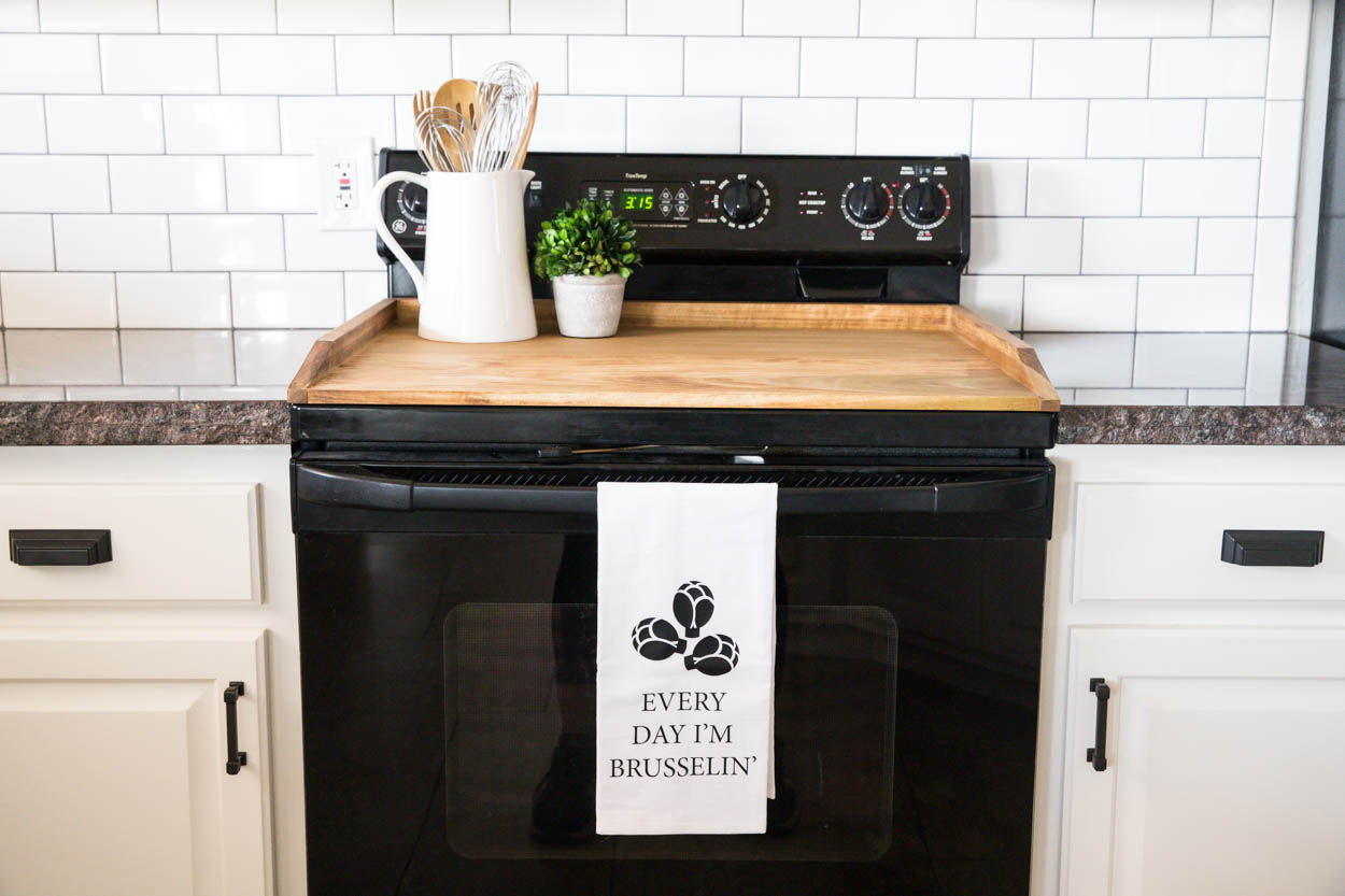 How To Build A Noodle Board Aka Stovetop Cover Addicted 2 Diy