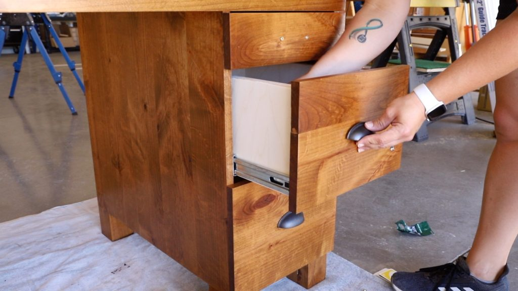 installing the drawer hardware