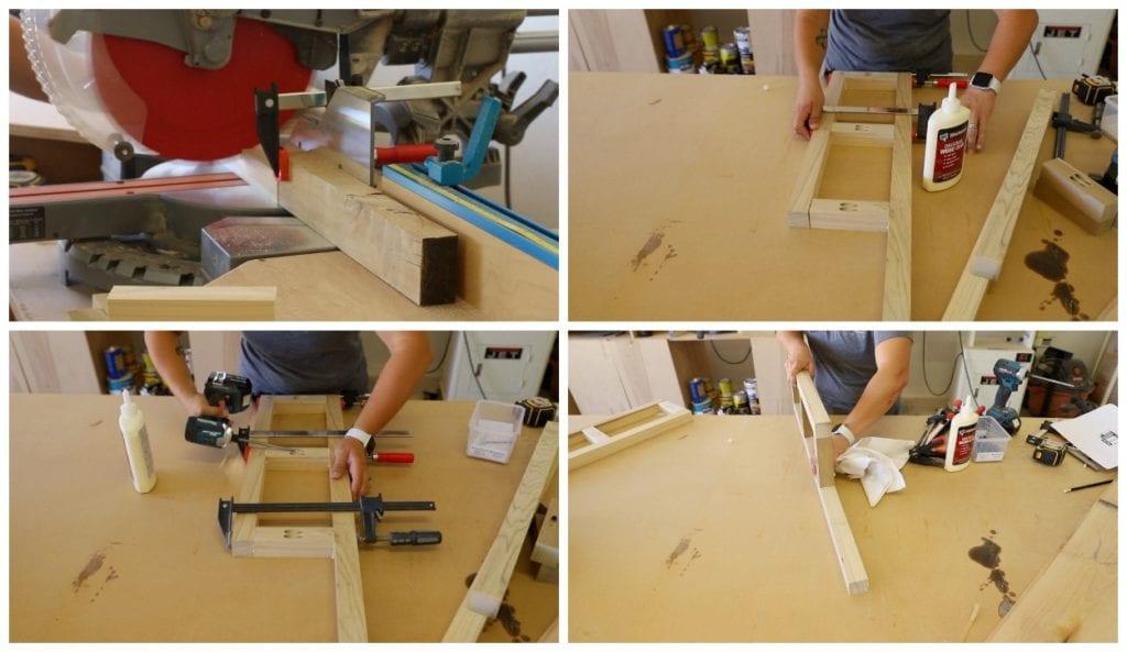 Build the frames