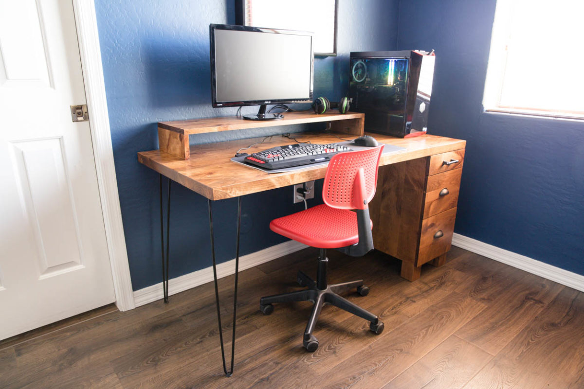 Gaming Computer Desk - How To Build Your Own - Addicted 2 DIY