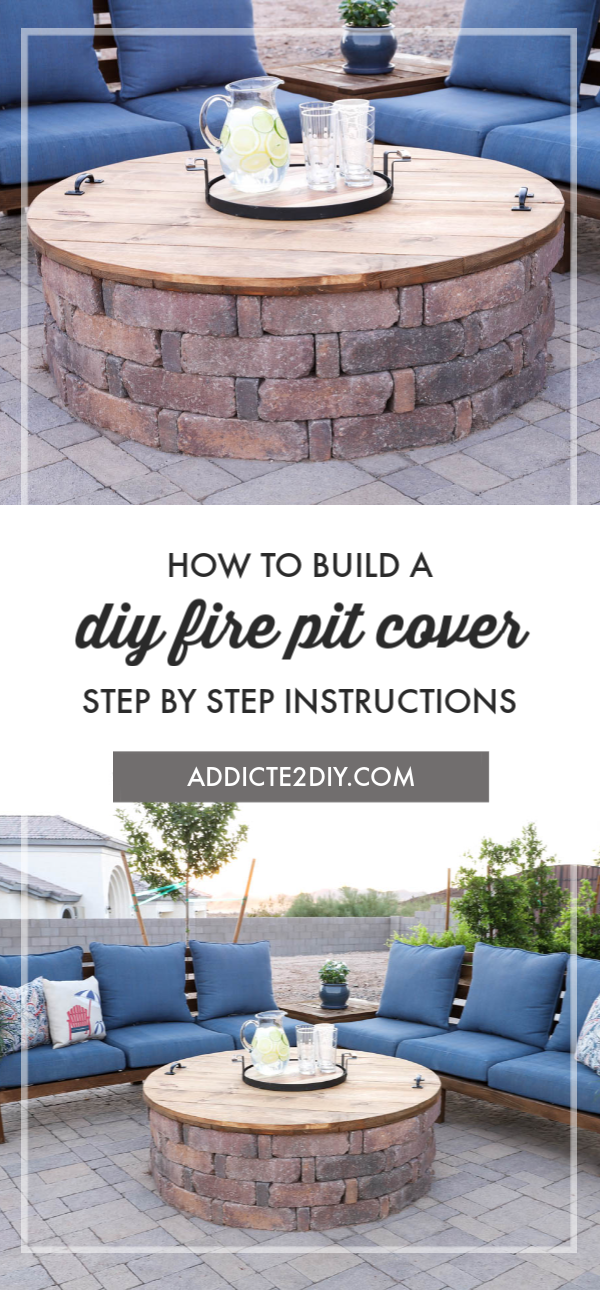 How To Build A Diy Fire Pit Cover Addicted 2 Diy