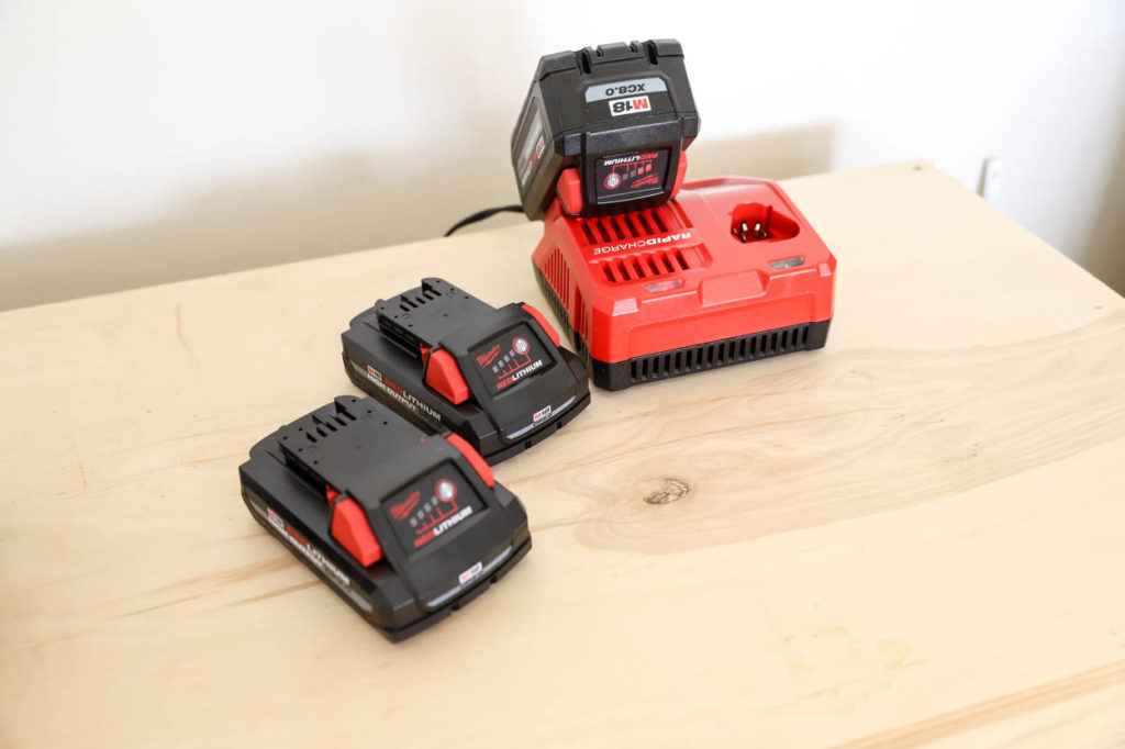 Milwaukee M18 XC8.0 starter pack and high output 3.0ah 2 pack