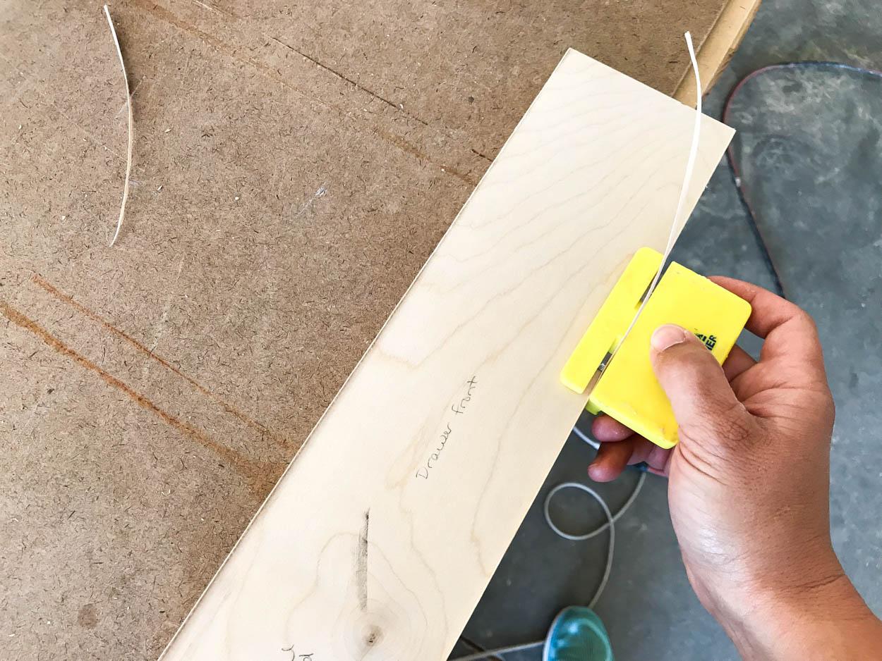 apply veneer banding
