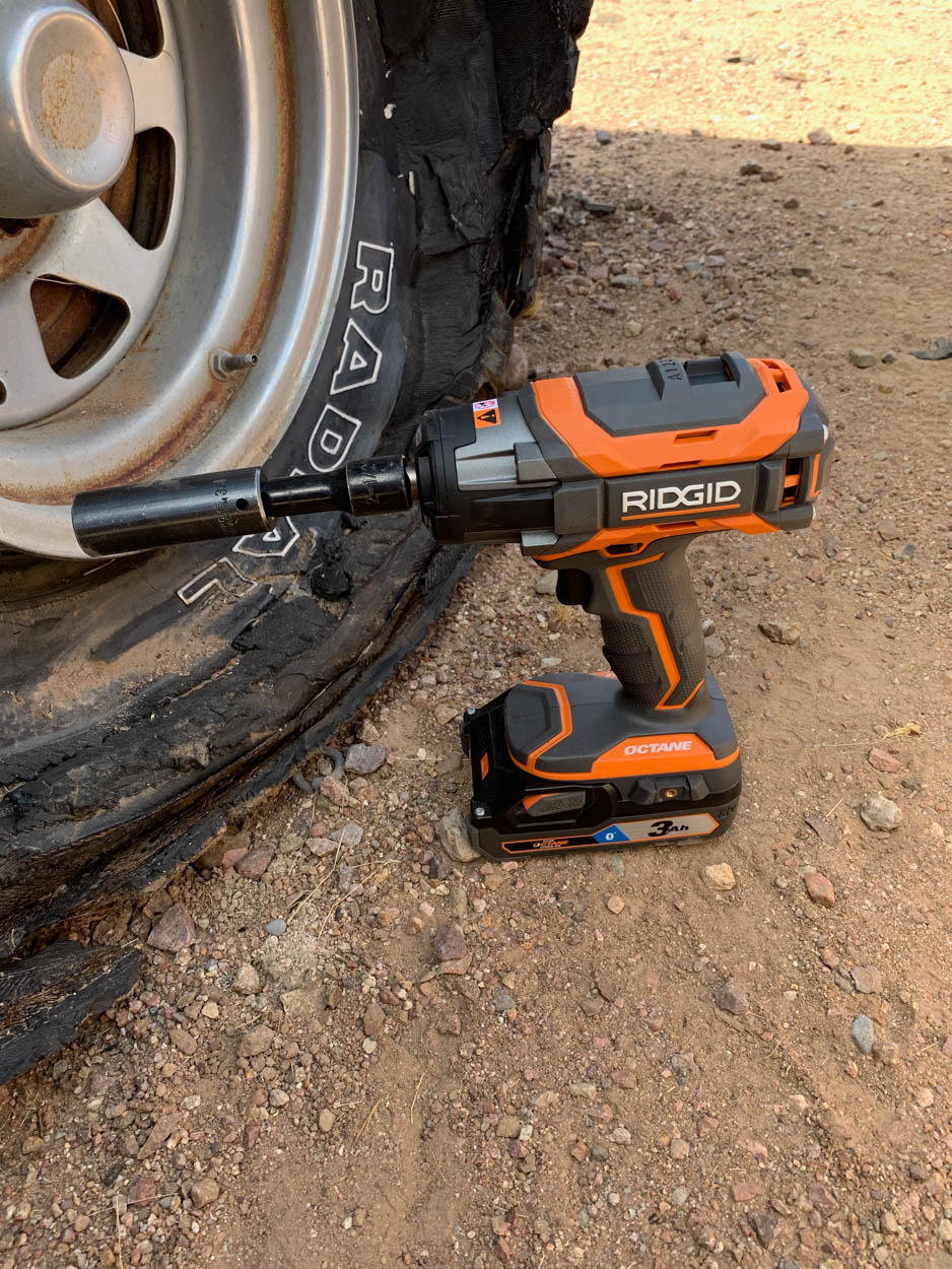 RIDGID impact wrench hero shot