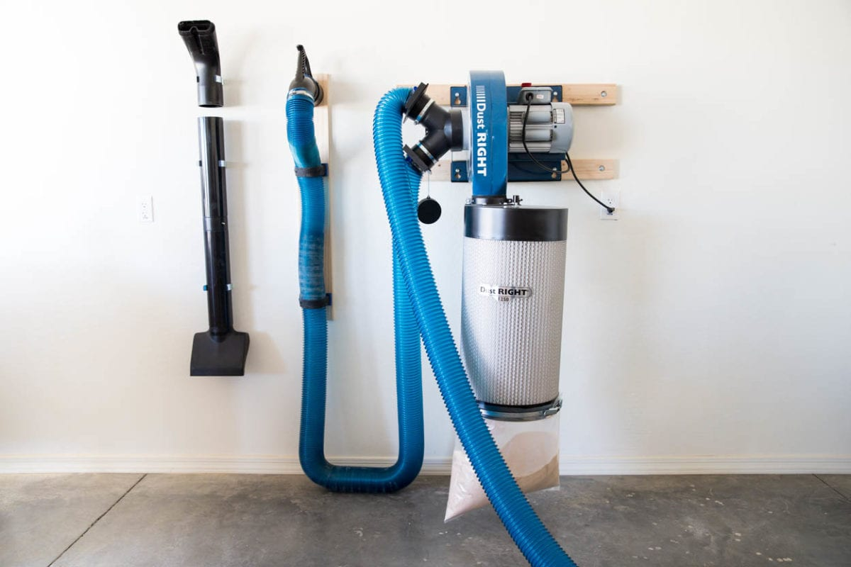DustRIGHT dust collection system