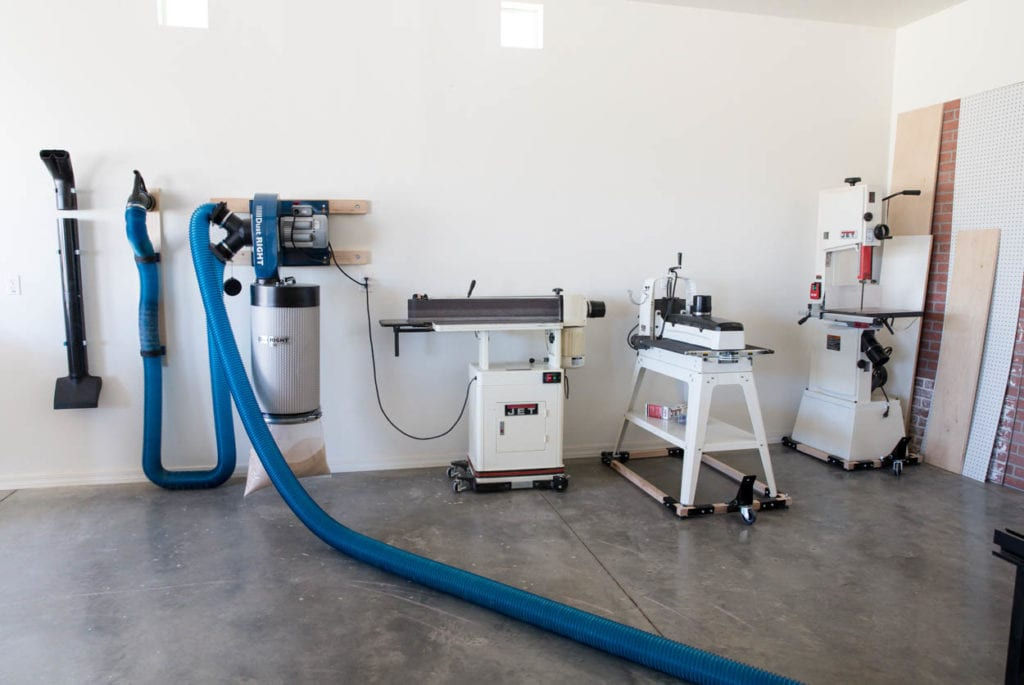 dust collection system setup