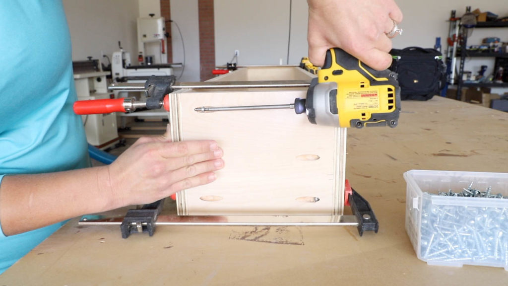 attach drawer pieces together