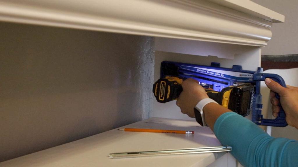 installing drawer slides