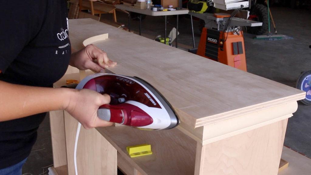apply veneer edge banding