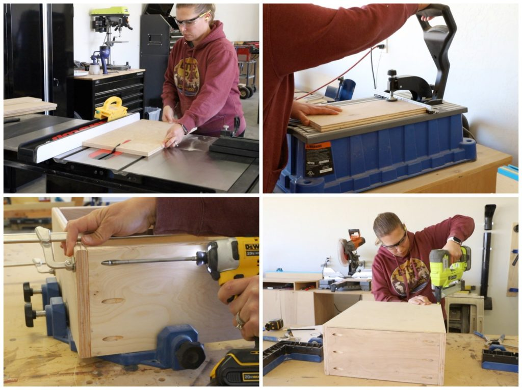 building drawer boxes