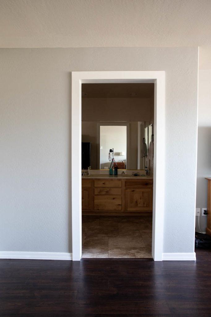 bedroom remodel after