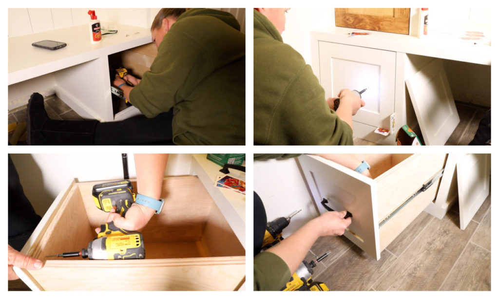 installing drawers